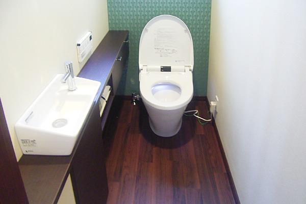 三重県伊賀市リフォーム後 トイレ