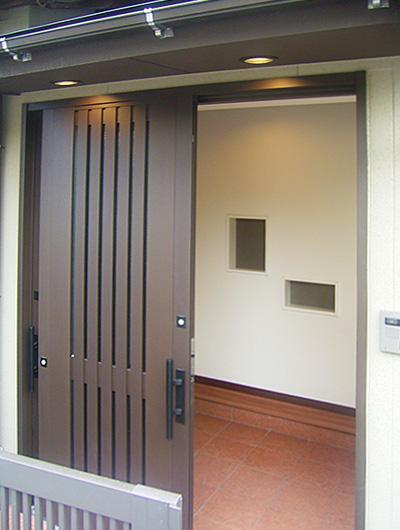 三重県伊賀市リフォーム後 玄関