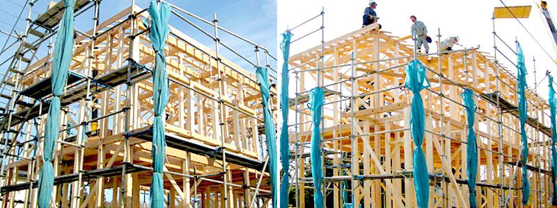 家づくりの流れ 建方