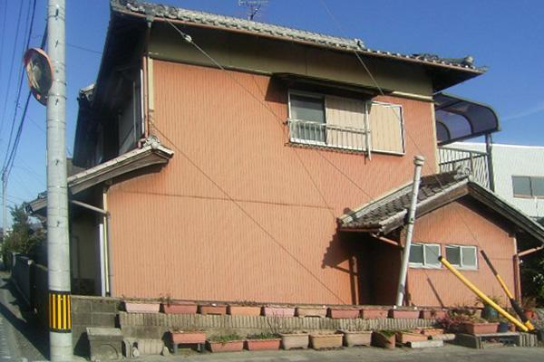 三重県伊賀市リフォーム前 外観